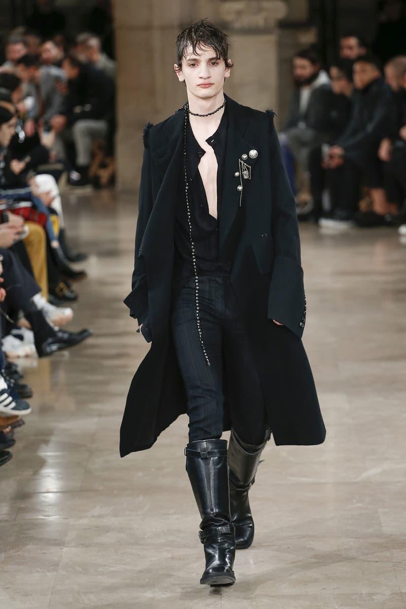 Ann Demeulemeester 2018 Fall Winter Collection paris fashion week mens runway pfw pfwm