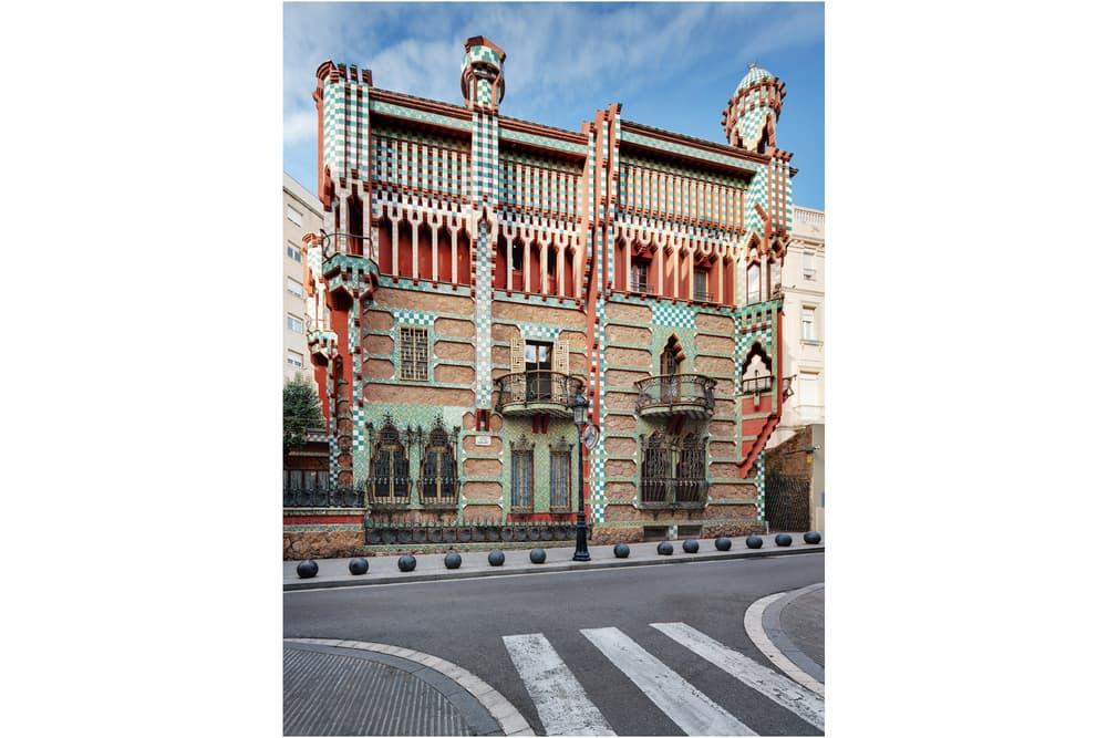 Antoni Gaudí Casa Vicens barcelona architecture museum interior exterior design