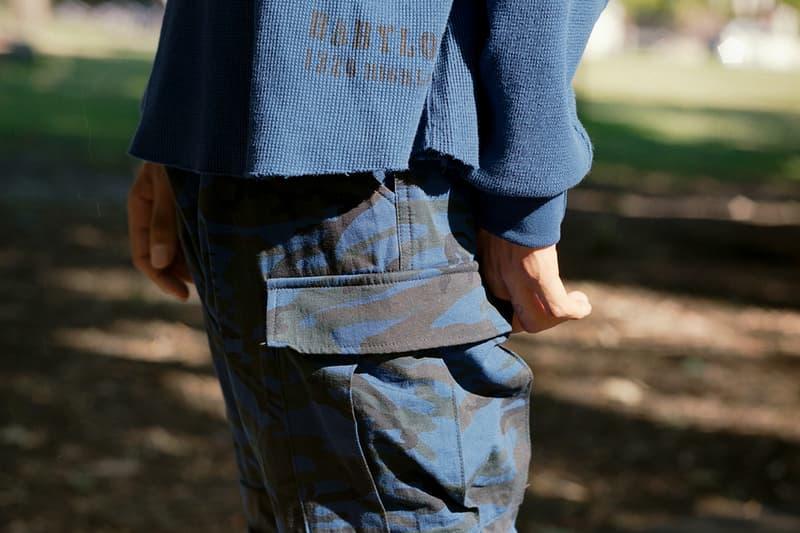 Babylon LA Winter 2018 Cut & Sew Work Jackets Cargo Pants Graphic Tees Skatewear Skateboarding Garrett Stevenson