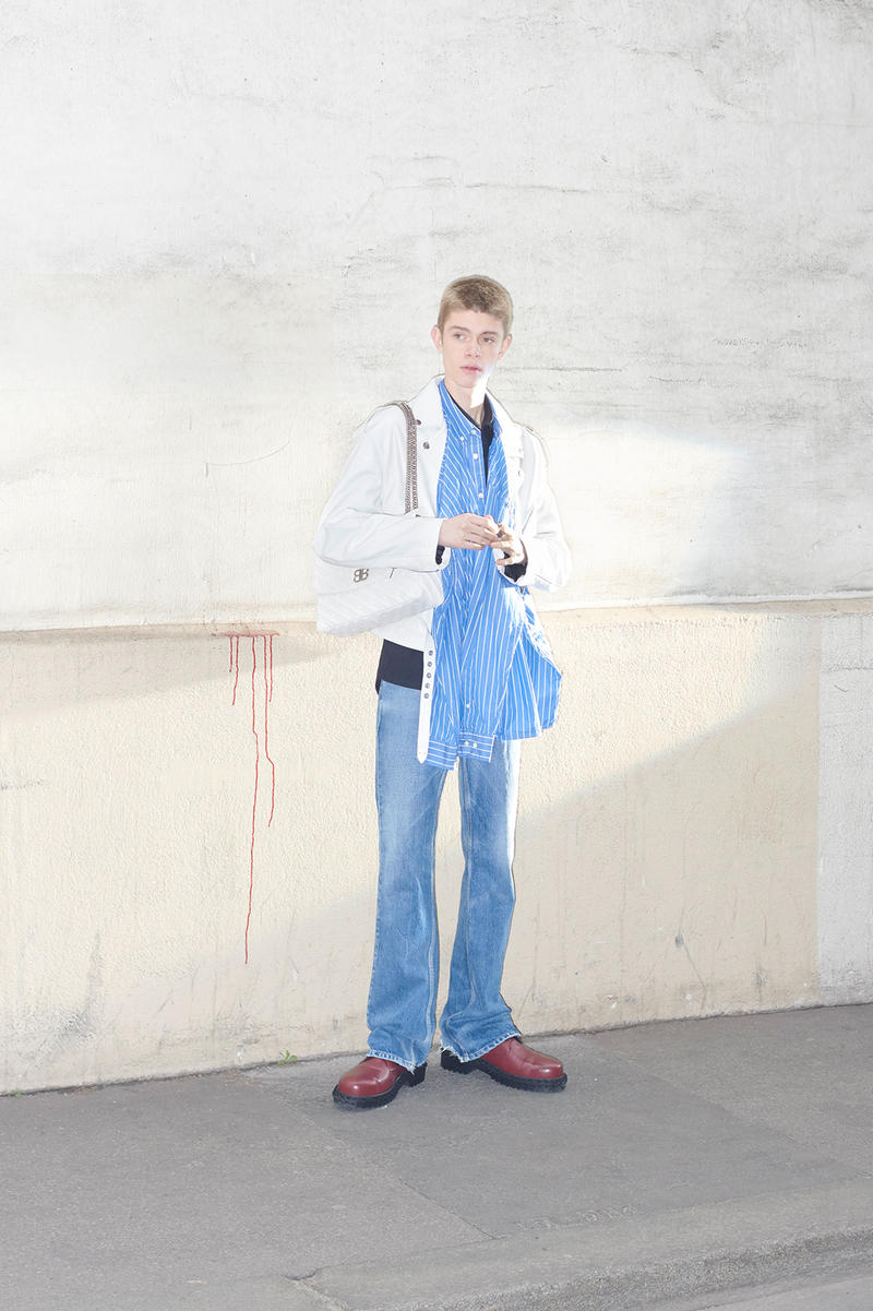 Balenciaga Pre-Fall 2018 men's Menswear Lookbook Demna Gvasalia Vetements Spring/Summer 2018