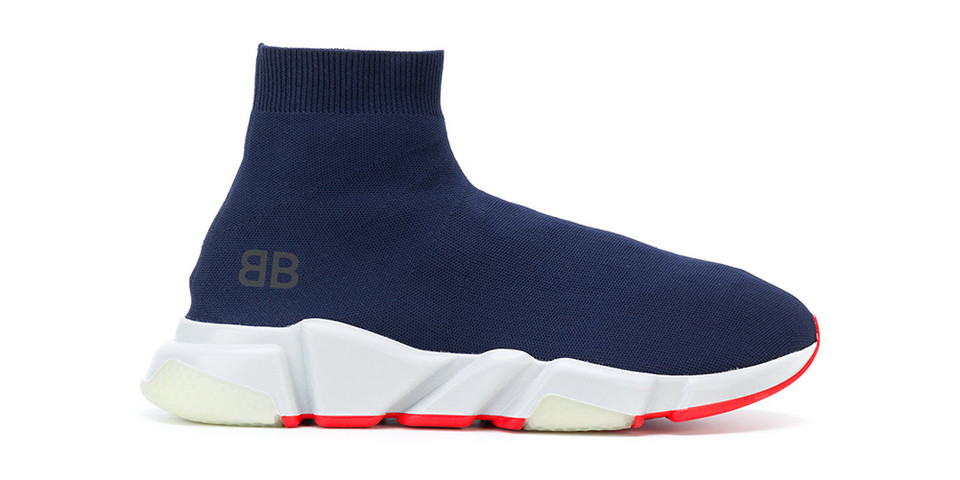 aa4db4ad14b0 Balenciaga Speed Trainer Low in Blue