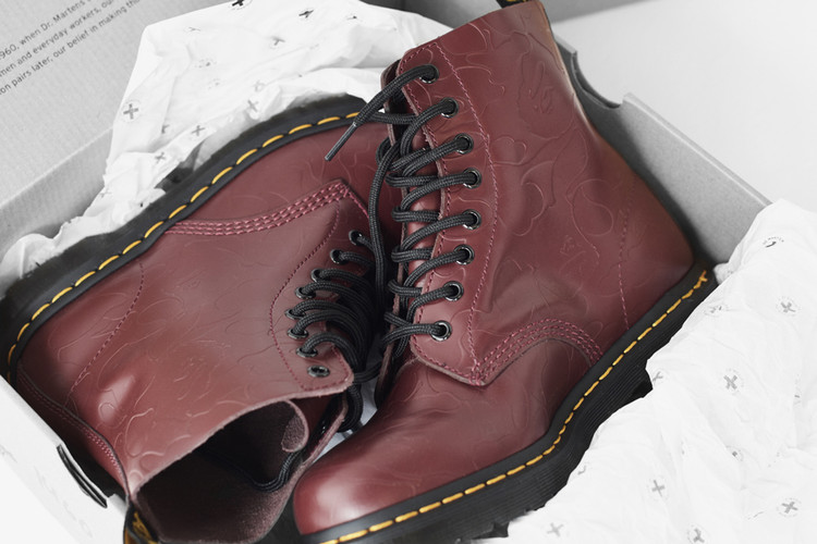 3812cf44681 BAPE Unveils Full Collaboration With Dr. Martens