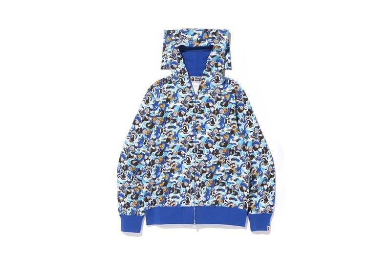 BAPE A Bathing Ape Hattori-Kun 2018 Collection anime japan ninja sweaters hoodies t-shirts Baby Milo Fujiko Fujio