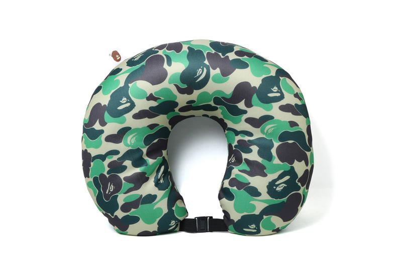 Bape ABC Neck Pillow Release Date A Bathing Ape 2018 February 3 Release Date Info Green Blue Red