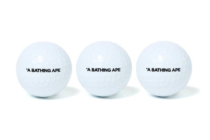 BAPE Performance Sports Equipment Golf Set Golf Head Cover Golf Balls Camouflage A Bathing Ape