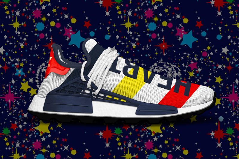 bbc2539710a68 BBC adidas NMD Hu Trail Fall footwear Pharrell Williams Heart Mind Fall 2018