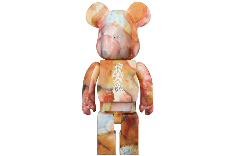 Pushead Medicom Toy BEARBRICK Water Print Japan 1000 Release Date Info Drops 2017 December 17
