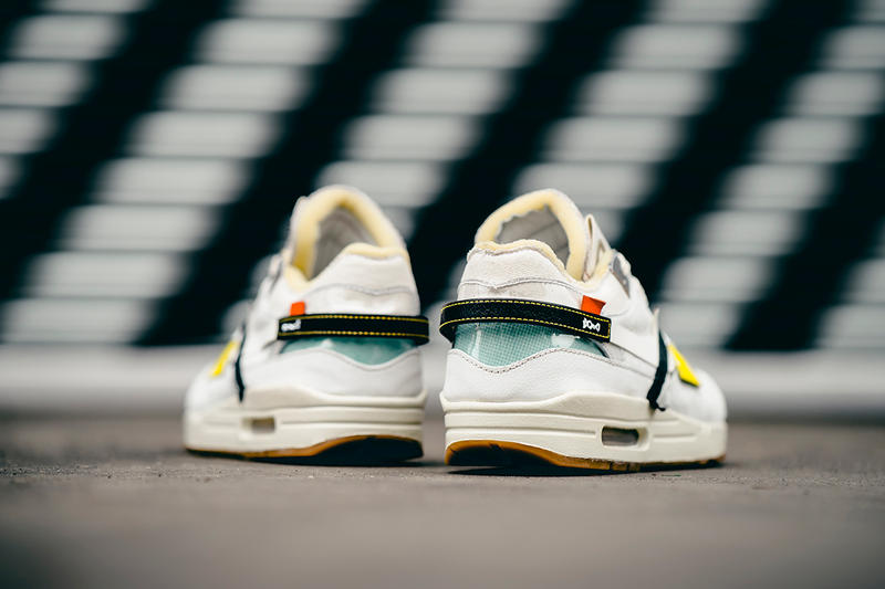 BespokeIND Off White Nike Air Max 1 Custom Footwear Shoes Sneakers