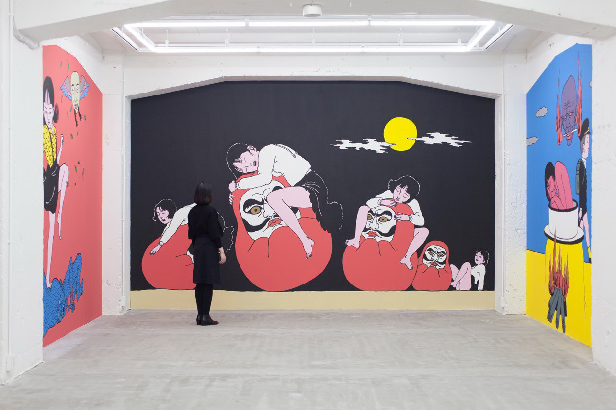 Takashi Murakami Virgil Abloh Gagosian Gallery KAWS George Condo Jeff Koons Barbara Kruger Yoko Ono Alex Katz Tosio Saeki Nanzuka Gallery Exhibitions Art Artwork