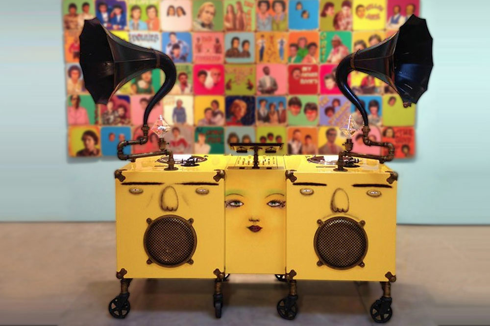OS GEMEOS CB Hoyo Martha Cooper teamLab Collective Design Art Artwork Furniture Exhibit Exhibition