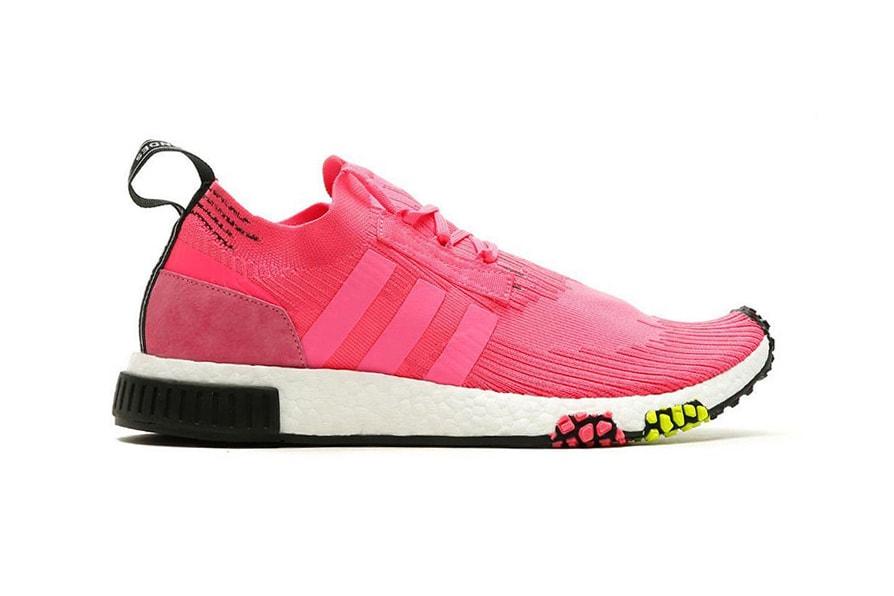 "6cf139b7714 adidas Originals NMD Racer ""Solar Pink"". Upclassics"