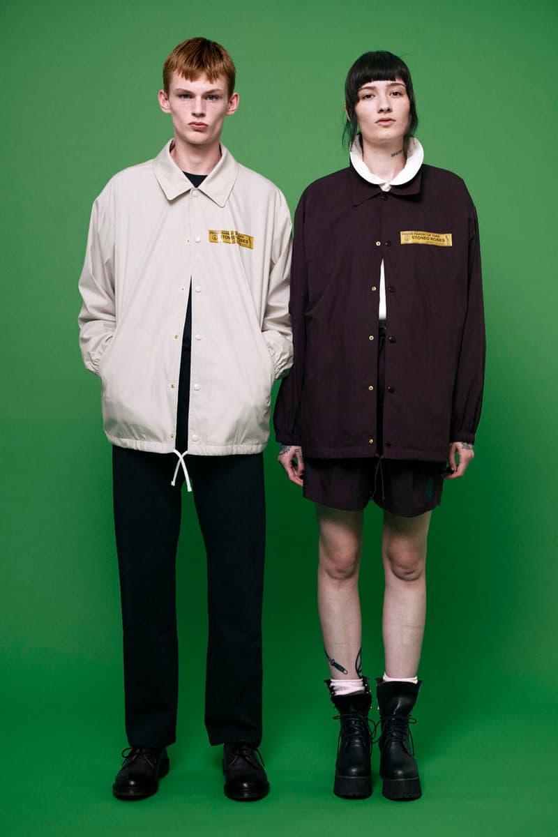 Black Weirdos 2018 Spring/Summer Collection lookbook japan
