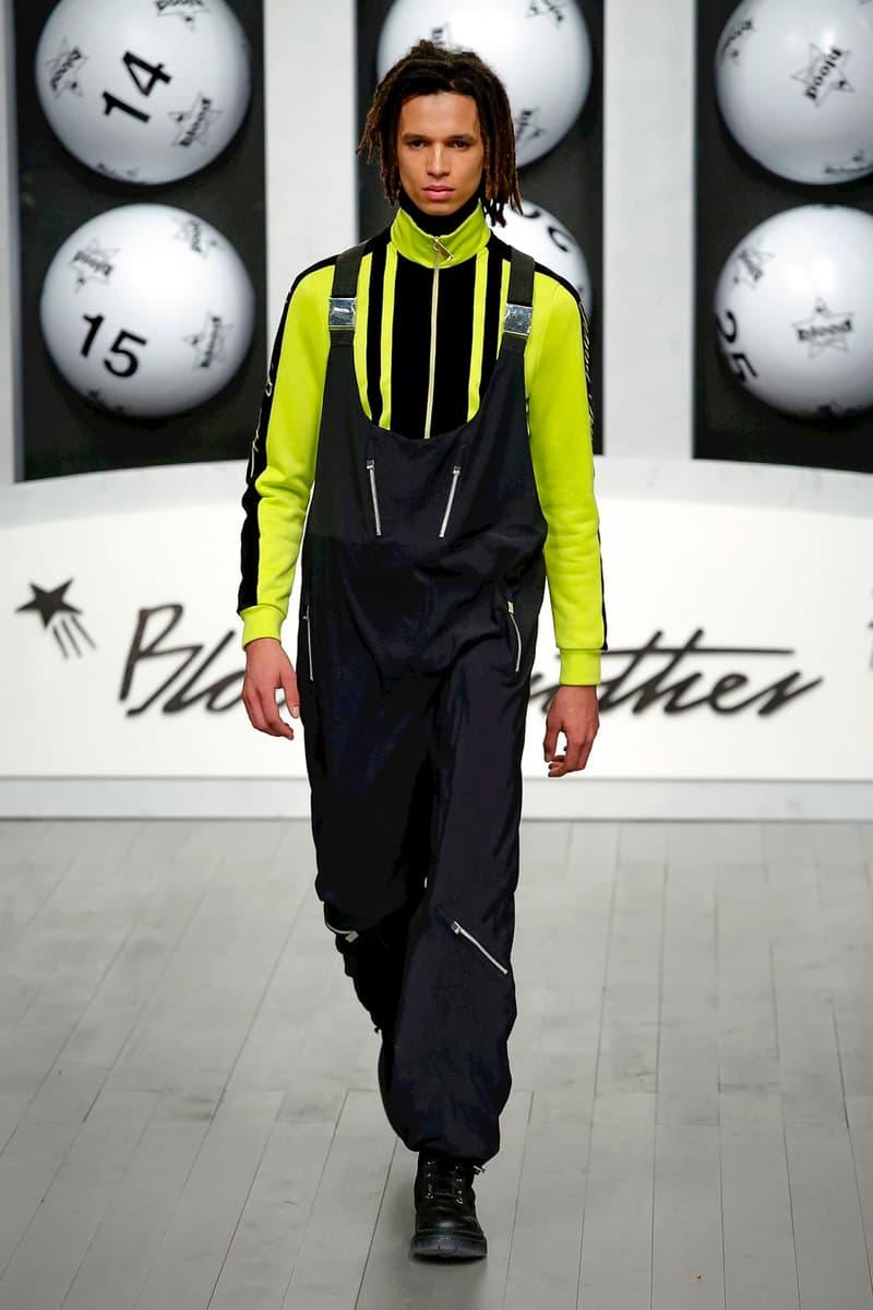 Blood Brother 2018 Fall/Winter Collection london fashion week men's lfwm lfw:m 2018 fall/winter runway menswear