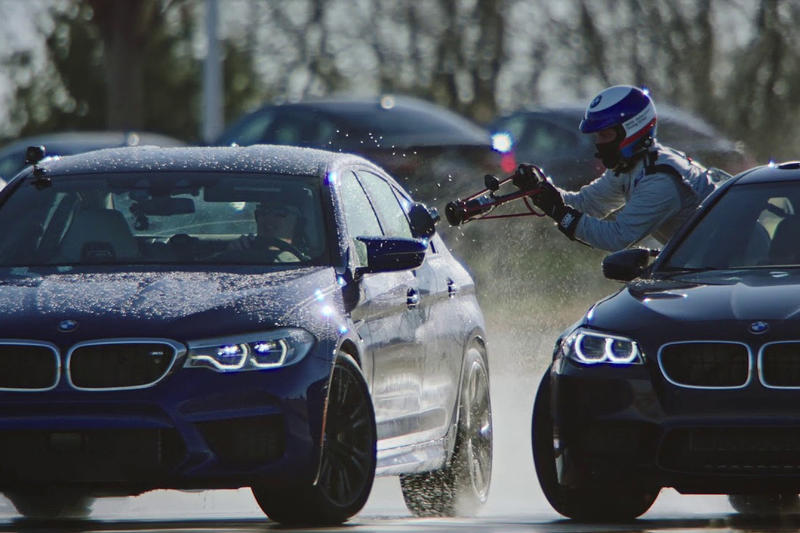 BMW M5 Attempt Refuel guinness world record