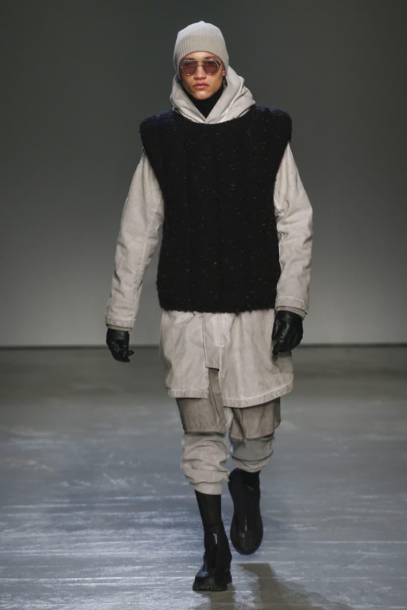Boris Bidjan Saberi 2018 Fall Winter Collection paris fashion week men's 2018