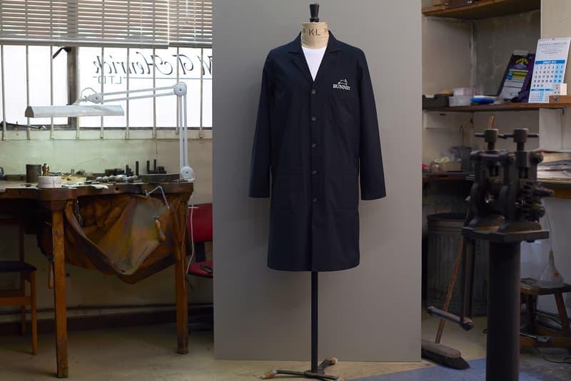 BUNNEY GORE TEX Waterproof Workshop Coat 2018 January February Release Date Info DSM DSMG Dover Street Market Ginza
