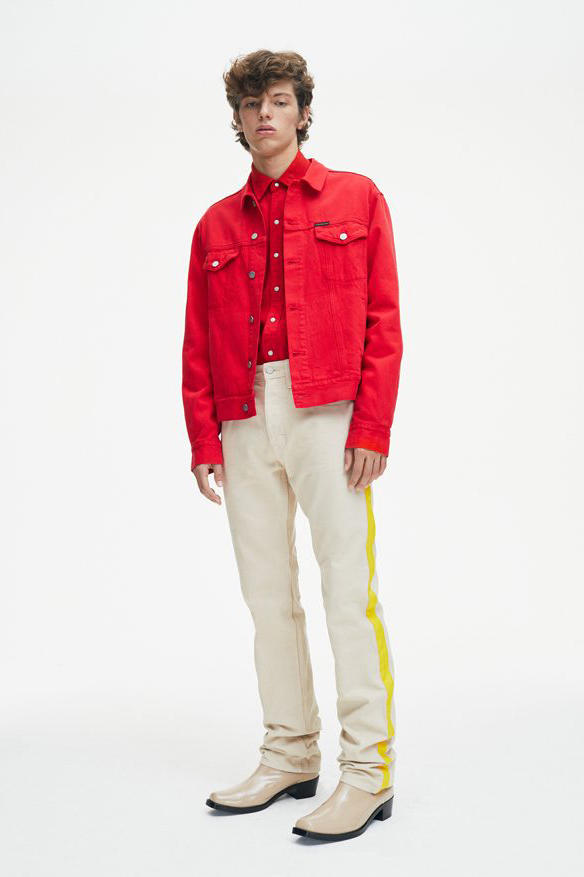 Calvin Klein Jeans Spring/Summer 2018 Lookbook Southwestern Cowboys Denim Jeans Trousers Pants collection Raf Simons
