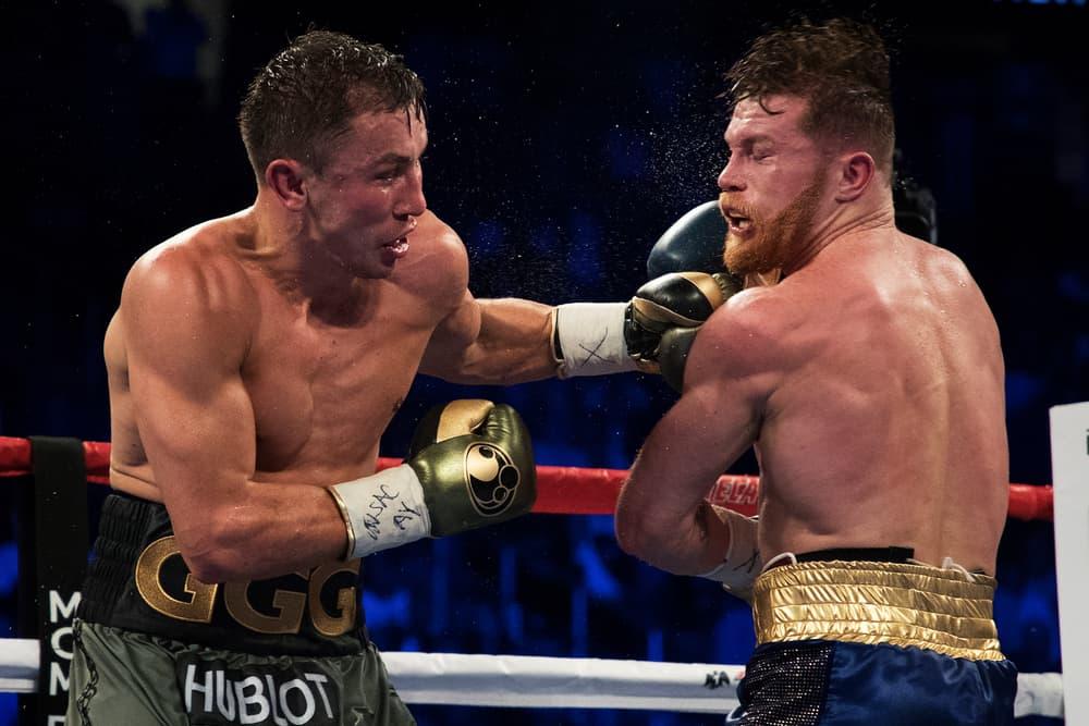 Canelo Álvarez vs. versus Gennady Golovkin Rematch 2 date fight match bout may 5 cinco de mayo boxing hbo sports golden boy jordan brand punch las vegas