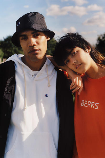 BEAMS Champion Spring Summer 2018 Collection Lookbook Exclusive
