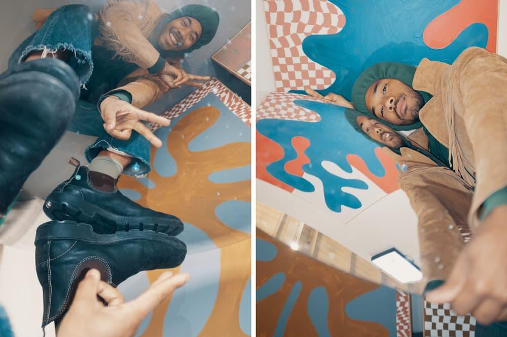 Chaz Bear Toro Y Moi New Image Art Exhibit Abstract Paintings Mixed Media Artwork