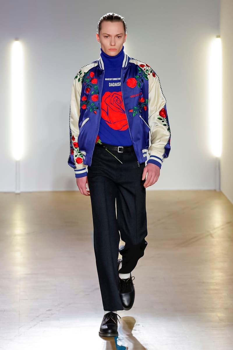 Christian Dada 2018 Fall/Winter Collection pairs fashion week men's