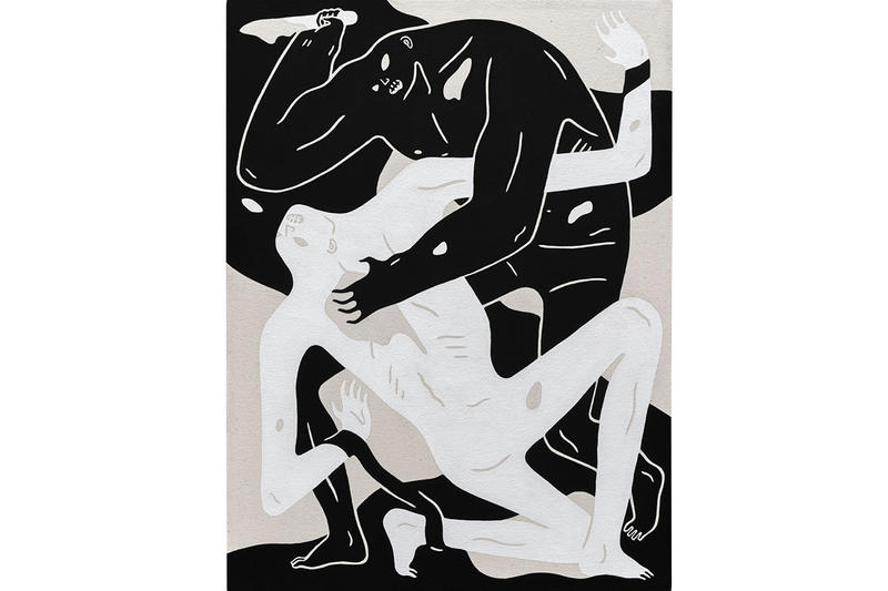 Cleon Peterson Shadow of Men Art Artwork Paintings Exhibits Exhibitions Museum of Contemporary Art Denver MCA