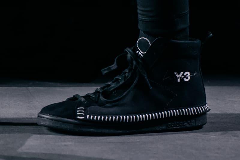 724197cce38 Y-3 adidas Yohji Yamamoto 2018 Fall Winter runway collection paris fashion  week mens shoes