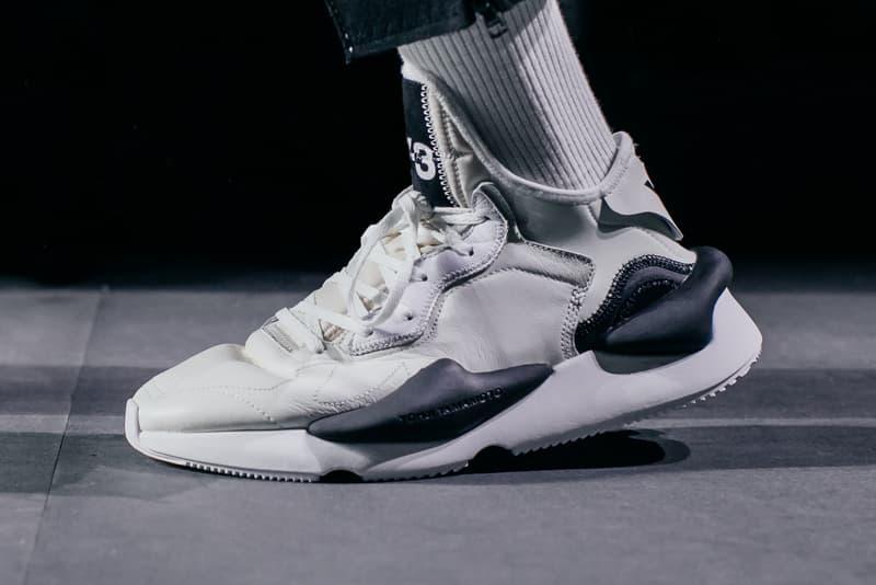 Y-3 adidas Yohji Yamamoto 2018 Fall Winter runway collection paris fashion week mens shoes sneakers