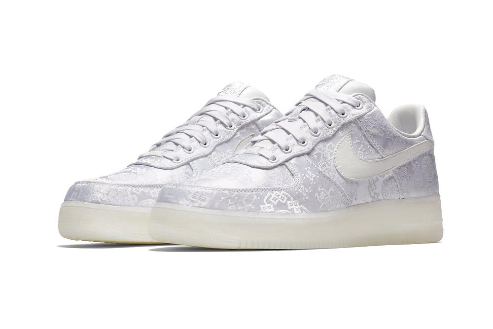 CLOT x Nike Air Force 1 Premium