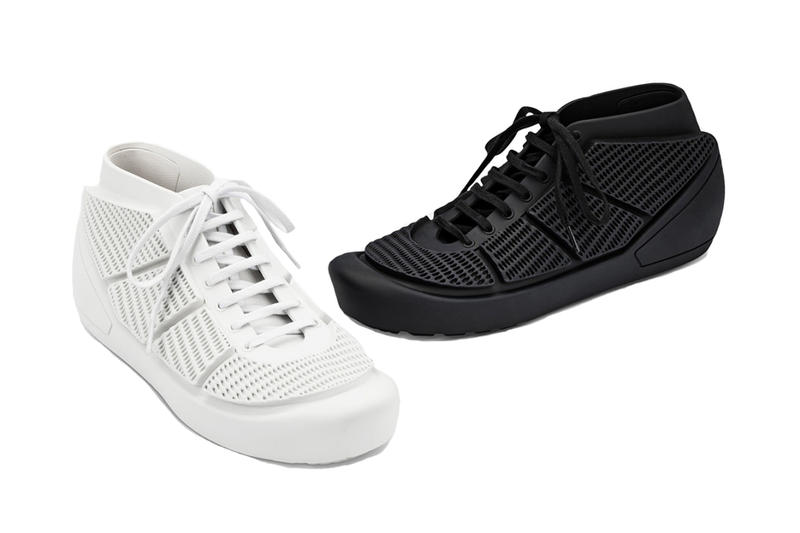 COMME DES GARCONS HOMME PLUS MELISSA 2018 Spring Summer Sneakers White Black Release Date Info Shoes Footwear