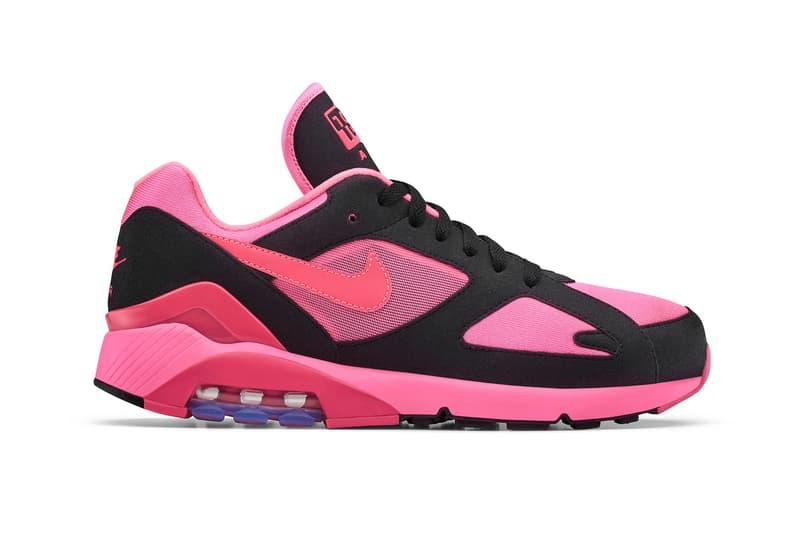 a544390f7f2 COMME Des GARÇONS HOMME Plus Nike Air Max 180 Closer Look