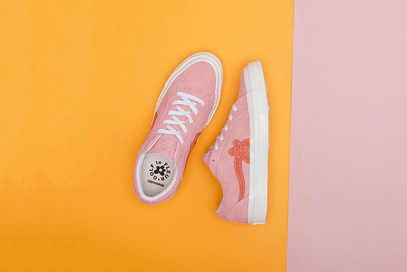 GOLF le FLEUR x Converse One Star New 2018 Colorways Pink Green Blue