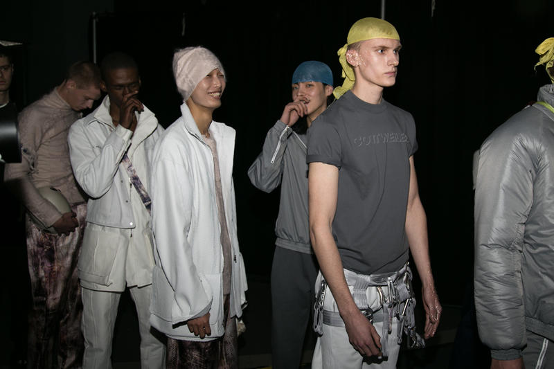 Cottweiler 2018 Fall/Winter London Fashion Week: Men's Backstage Imagery Sunspel Mulberry