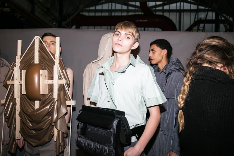 Craig Green Fall/Winter 2018 Backstage LFW:M Michèle Lamy J.W.Anderson London Fashion Week Men's