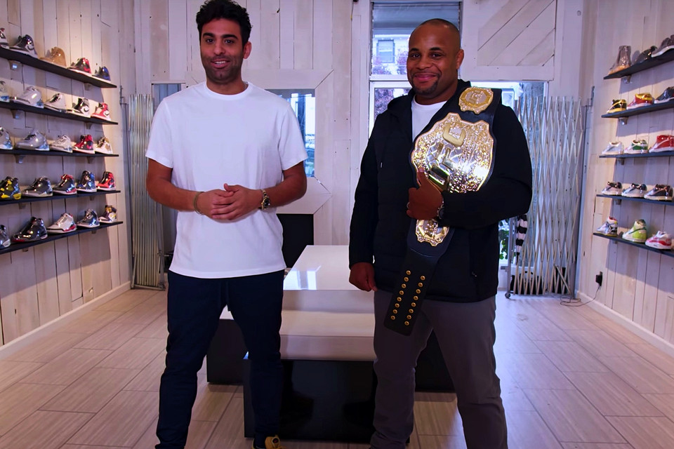 2361f970dcf Daniel Cormier Discusses Which MMA Fighter Deserves a Sneaker Deal in  Sneaker  Shopping