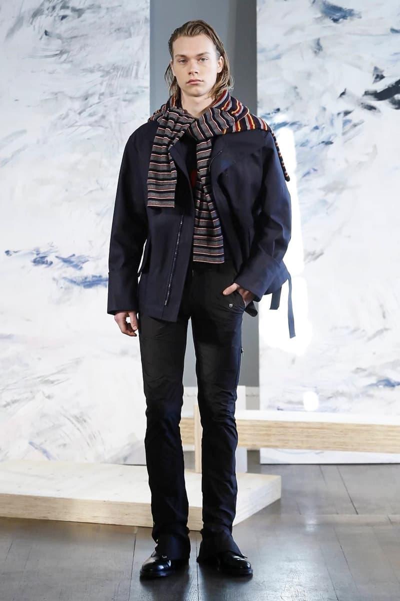 Daniel W. Fletcher 2018 Fall/Winter Collection london fashion week london fashion week men's lfwm lfw:m london fashion week men's 2018 fall/winter