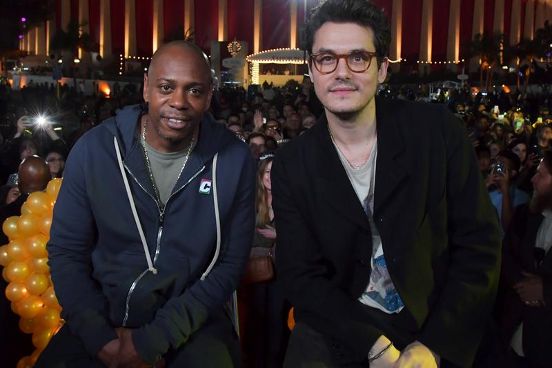 Dave Chappelle Joins John Mayer in Surprise Acoustic Show in Los Angeles Video Music The Search For Everything