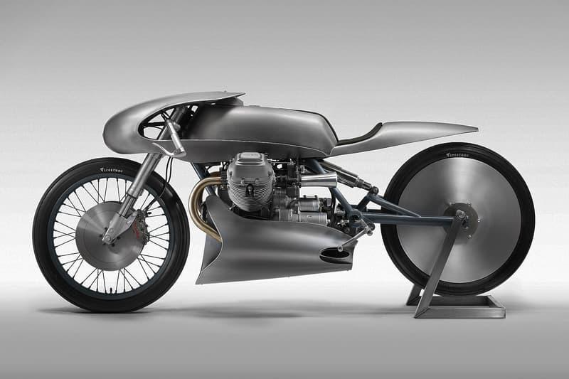 Death Machines London Moto Guzzi Le Mans Mk II Grey automotive