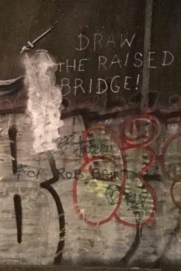 Banksy Hull Mural Window Cleaner Art Artwork Draw The Raised Bridge Street Art