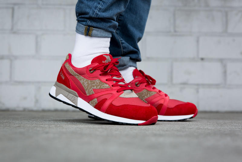 Diadora N9000 Rococo Red Bianco Italy Made 2018 January Overkill date release date drop info