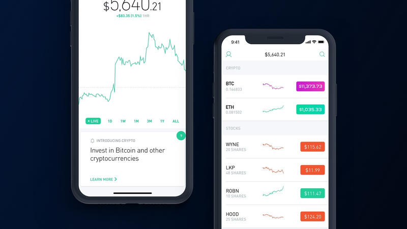 Robinhood No Fee Cryptocurrency Trading US Crypto Bitcoin Litecoin ethereum ether Vlad Open Source Code Ethereum Classic OmiseGO Ark Zsnarkz Zcash