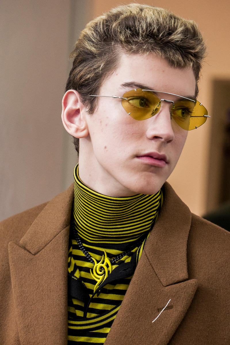 Dior Homme 2018 Fall/Winter Collection Backstage collection runway paris fashion week mens fall winter 2018