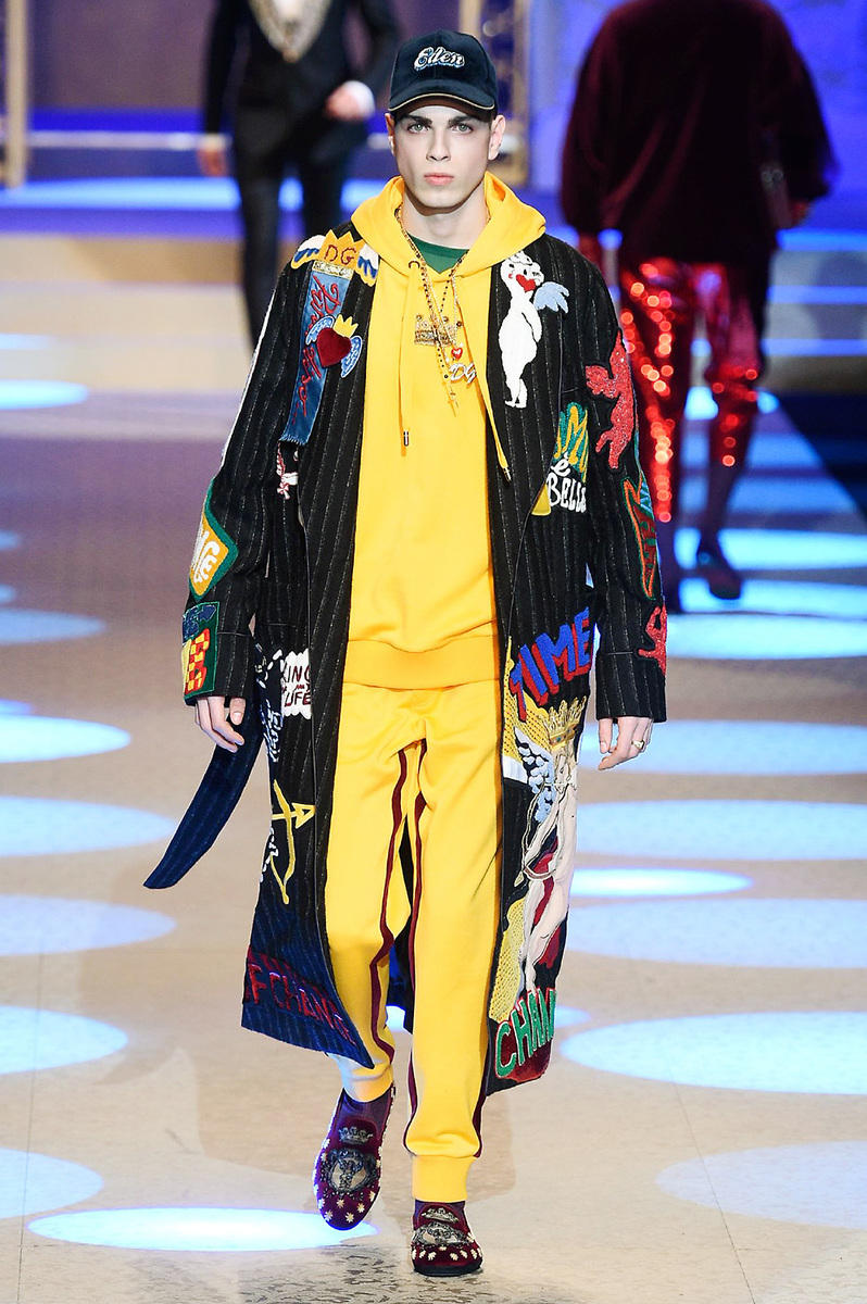 Dolce & Gabbana 2018 Fall/Winter Collection milan fashion week men's