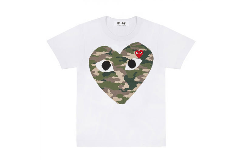 Dover Market Street Drops CDG 2018 New Arrivals Play Comme des Garçons New Play CDG Camouflage and Polka Dot T-Shirts Junya Watanabe Man x Carhartt  Junya Watanabe Man x Carhartt DSML  Richardson x DSM Hardware Specials Judy Blume Undercover x Levi's