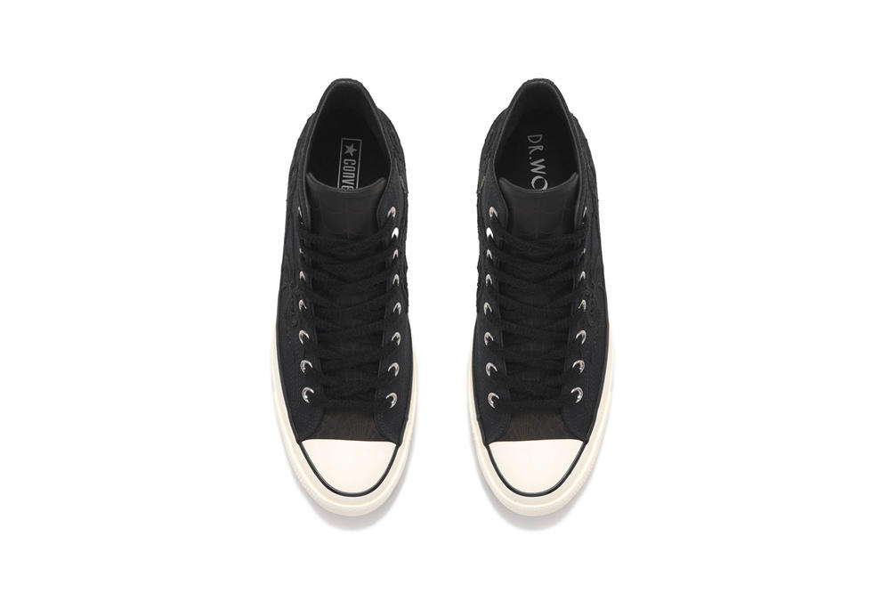Dr Woo Nike Converse Chuck Taylor All Star 1970 Footwear Shoes Sneakers Nike Closer Look Black White Spider