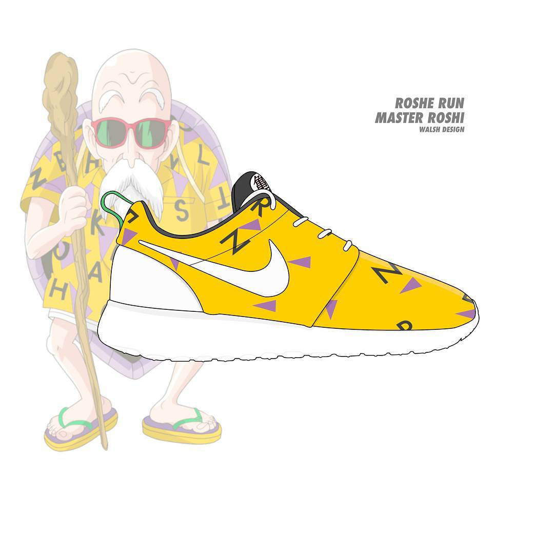 Dragon Ball Z' x Nike Collabo by