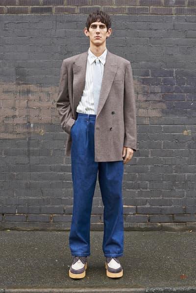 E.Tautz Fall/Winter 2018 Collection english england london heritage plaid garments lookbooks