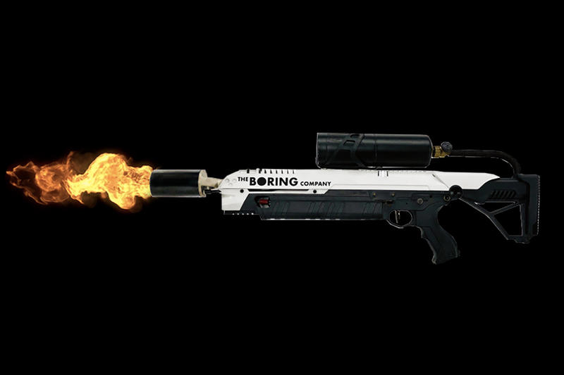 Elon Musk  Sold 8000 Flamethrowers 5 Million USD Dollars The Boring Company