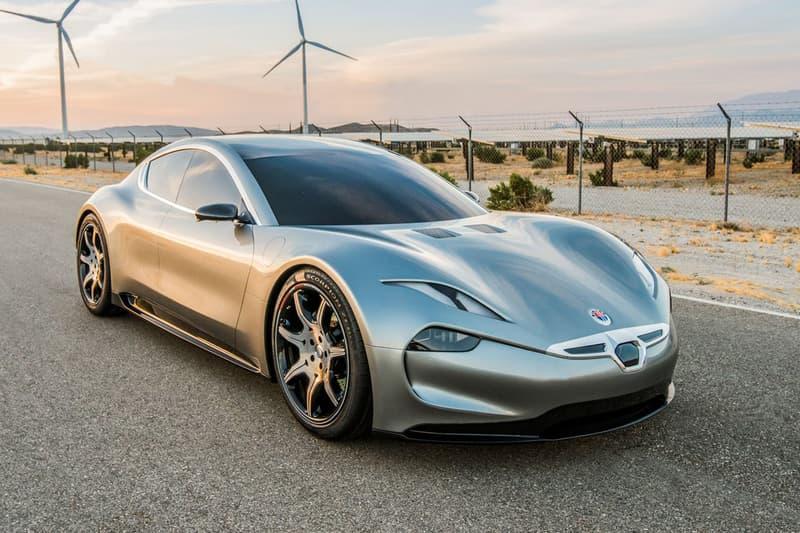 Fisker Motion EV CES 2018 Electric Cars UltraCharger