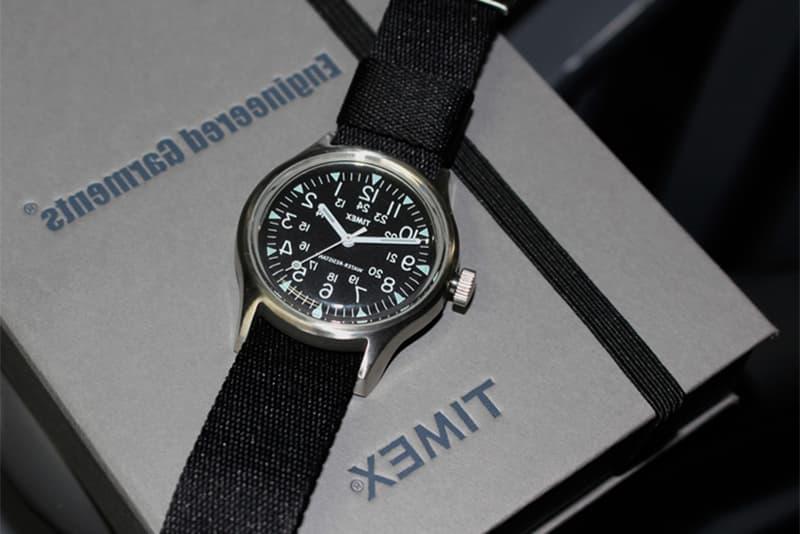 Engineered Garments BEAMS Timex Watch Collaboration 2018 January 29 Release Date Info boy harajuku